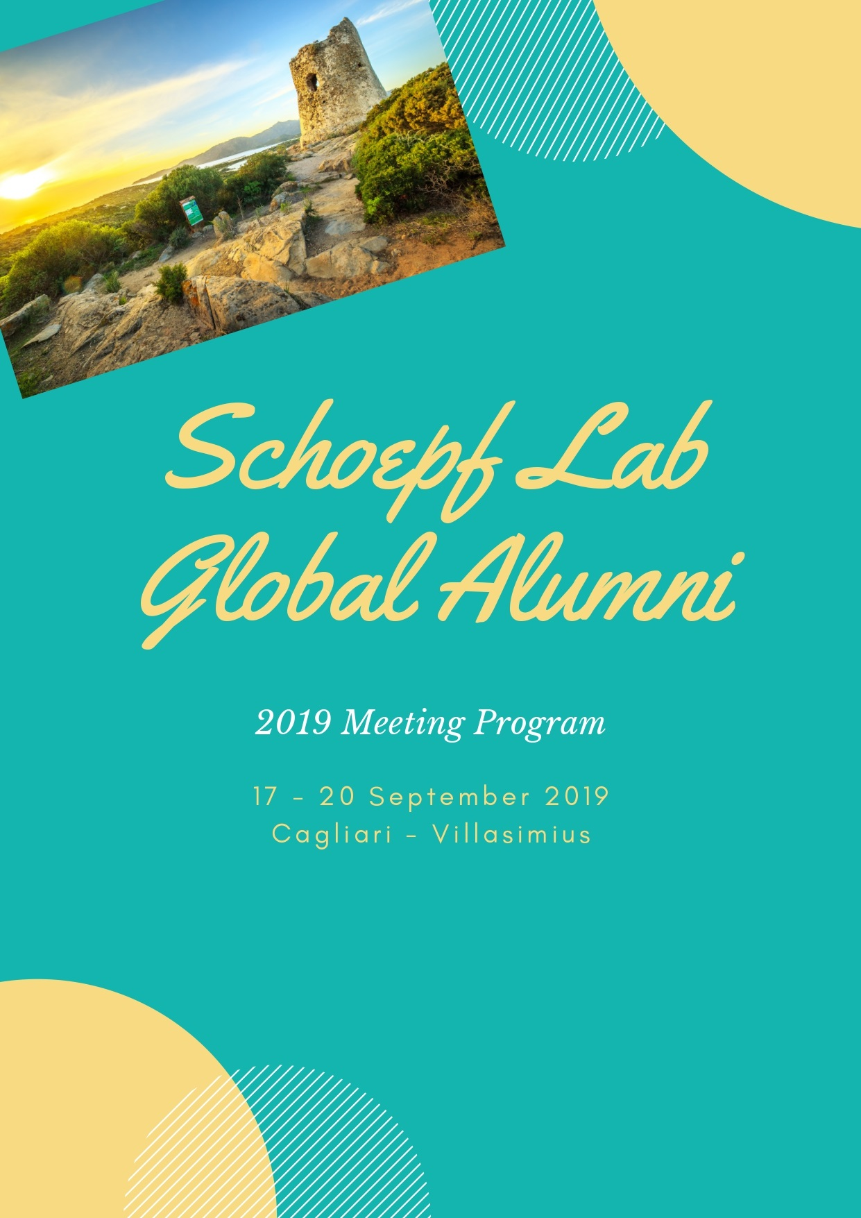 SCIENTIFIC PROCEEDINGS OF THE  SCHOEPF LAB GLOBAL ALUMNI